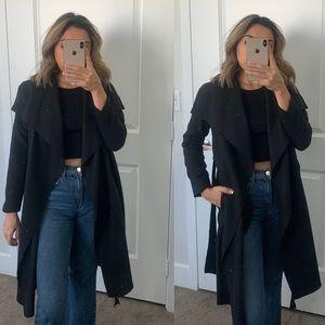 Brand New Black Pea Coat